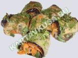 блюда из баклажанов | рулетики из баклажанов - рецепт с фото
